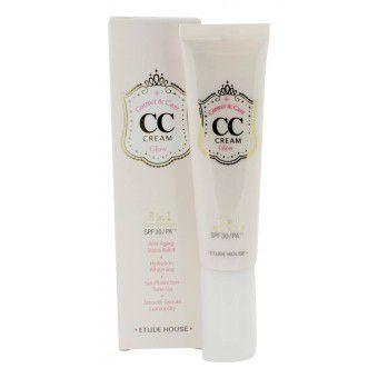 Etude House CC Cream Correct&Care Glow - Корректирующий СС-крем для сияния кожи