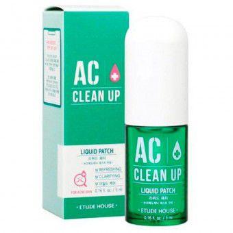 Etude House AC Clean Up Liquid Patch  - Жидкий патч для проблемной кожи