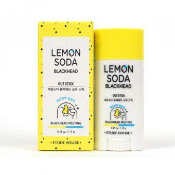 Etude House Lemon Soda Blackhead Out Stick - Очищающий стик