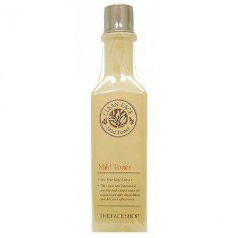 The Face Shop Clean Face Mild Toner - Тонер для жирной и комбинированной кожи 130 мл