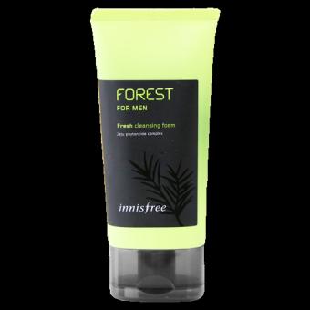 Innisfree Forest For Men Fresh Cleansing Foam - Освежающая пенка для умывания и бритья с фитонцидным комплексом