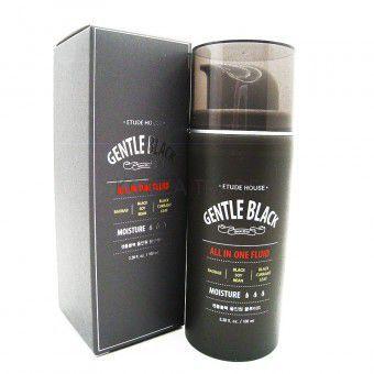 Etude House Gentle Black All In One Fluid - Универсальный флюид для мужской кожи