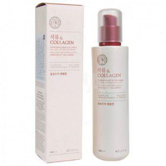 The Face Shop Pomegranate & Collagen Volume Lifting Emulsion - Лифтинг-эмульсия с экстрактом граната и коллагеном 140 мл.