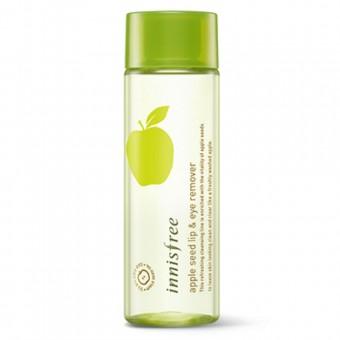 Innisfree Apple Seed Lip & Eye Remover - Средство для снятия макияжа с экстрактом яблока