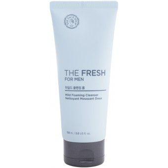 The Face Shop The Fresh For Men Mild Foaming Cleanser - Пенка для умывания для мужчин