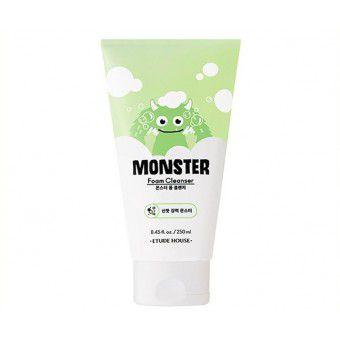 Etude House Monster Foam Cleanser - Освежающая пенка для умывания