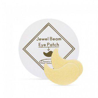 Etude House Jewel Beam Eye Patch - Гидрогелевые патчи с коллоидным золотом и коллагеном
