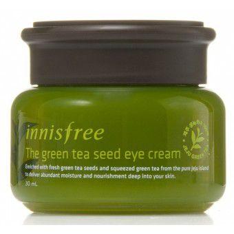 Innisfree Green Tea Seed Eye Cream - Крем для кожи вокруг глаз на основе семян зеленого чая