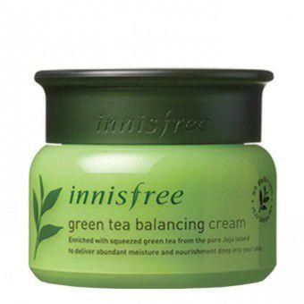Innisfree Green Tea Balancing Cream EX - Крем для лица с экстрактом зеленого чая