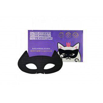 Etude House Mystery Cat Black Hydrogel Eye Patch - Черная гидрогелевая маска патч для области вокруг глаз