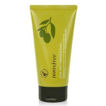 Innisfree Olive Real Cleansing Foam - Пенка для умывания с органическим маслом оливы