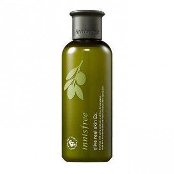 Innisfree Olive Real Skin Ex - Тонер с органическим оливковым маслом