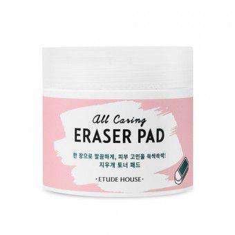 Etude House All Caring Eraser Pad - Очищающие тонизирующие диски