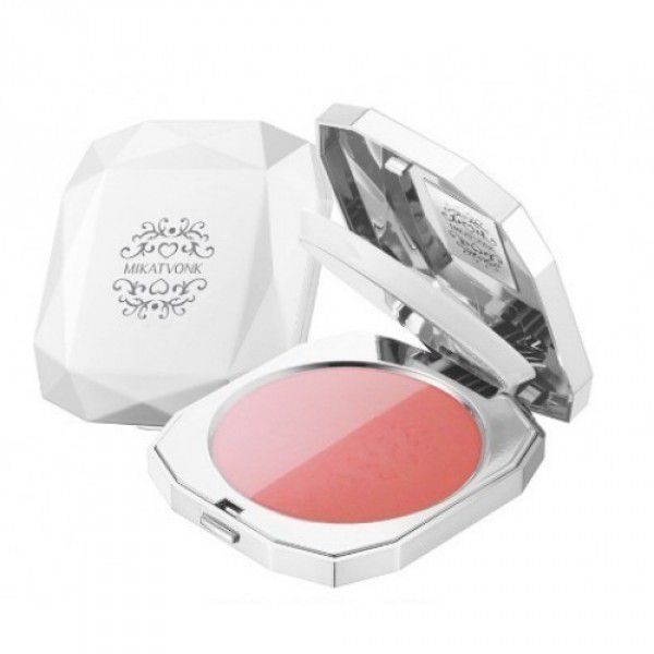 3D Cheek Powder NO.2 Soft Peach/Glam Orange - Румяна 2-цветные