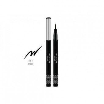 Mik@Vonk All day lasting pen eyeliner - Гелевая подводка для глаз Черная