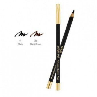 Mik@Vonk Professional Eyeliner Pencil (Wood) NO.11 Black - Деревянный карандаш для глаз