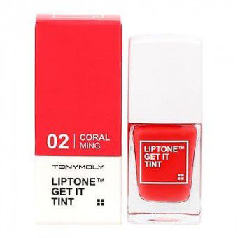 TonyMoly Lip Tone Get It Tint 02 Coral - Тинт для губ легкий увлажняющий