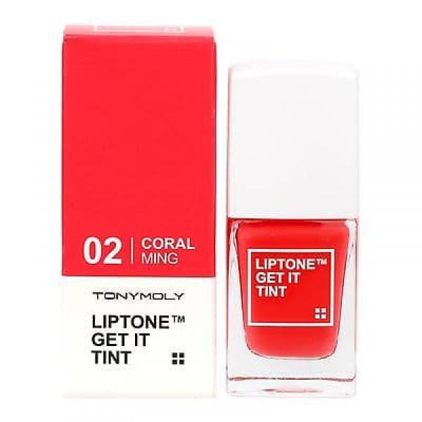 Lip Tone Get It Tint 02 Coral - Тинт для губ легкий увлажняющий