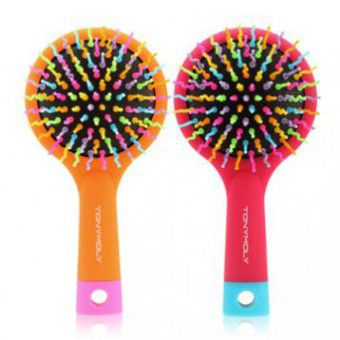 TonyMoly Volume S Curl Brush2 (Pink Purple) - Расческа для волос