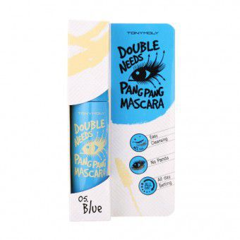 TonyMoly Double Needs Pang Pang Mascara 05 Blue - Тушь для ресниц