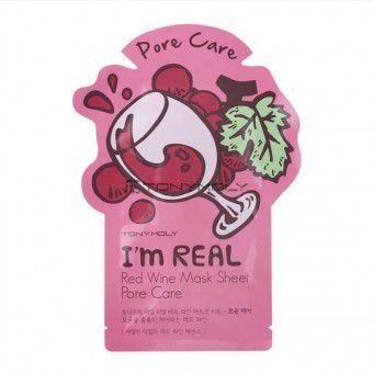 TonyMoly I'm Real Red Wine Mask Sheet - Маска с экстрактом красного вина