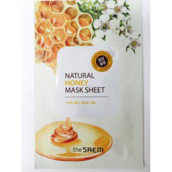 The Saem Natural Honey Mask Sheet - Маска питательная