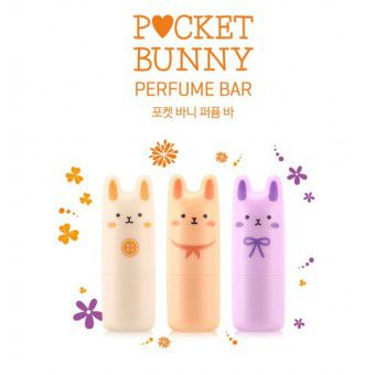 "TonyMoly Pocket Bunny Perfume Bar 03 Bloom Bunny - Духи-стик ""кролик"""
