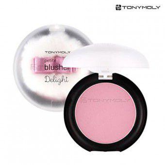 TonyMoly Delight Petit Blusher 01 - Румяна с экстрактом хлопка