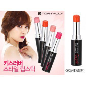 TonyMoly Kiss Lover Style OR03 Summer Orange - Помада для губ