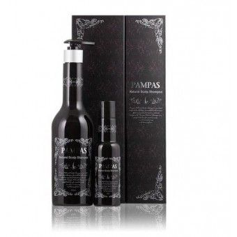 Pampas Natural Scalp Shampoo Set -  Подарочный набор (натуральный шампунь против выпадения волос)