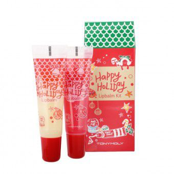 TonyMoly Happy Holiday Lip Balm Kit -  Набор бальзамов для губ