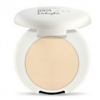 TonyMoly Delight Cotton Pact 02 Beige - Пудра компактная