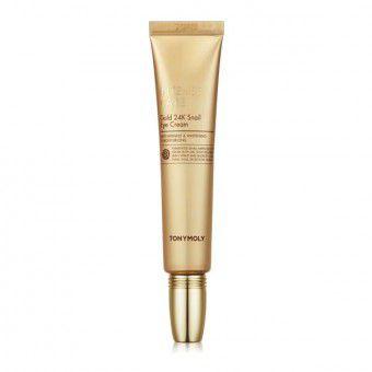TonyMoly Intense Care Gold 24K Snail Eye Cream - Крем для глаз с муцином улитки и золотом
