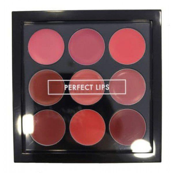 Купить со скидкой Perfect LipsTop Color Lip Palette - Палетка для макияжа губ