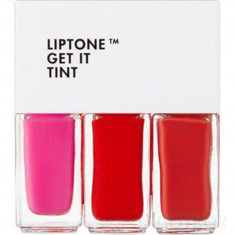 TonyMoly Liptone Get It Tint Mini Trio 01 - Мини-набор тинтов