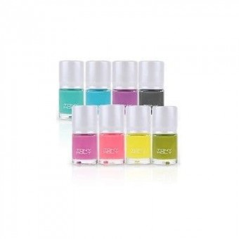 TonyMoly Nail Lacquer Paint PO04 New Yellow Green Pop - Лак для ногтей