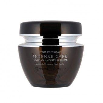 TonyMoly Intense Care Caviar Volume Capsule Cream - Капсульный крем с экстрактом чёрной икры
