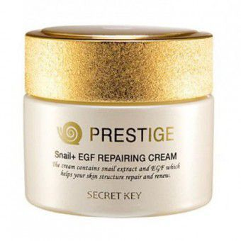Secret Key Prestige Snail + EGF Repairing Cream - Крем восстанавливающий