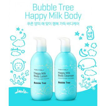 TonyMoly Bubble Tree Happy Milk Body Lotion - Лосьон для тела