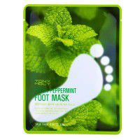 Fresh peppermint foot mask2 - Мятная Маска для ног