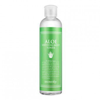 Secret Key Aloe Soothing Moist Toner - Тоник для лица