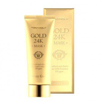 TonyMoly Luxury Jam gold 24K Mask -  Маска с 24К золотом