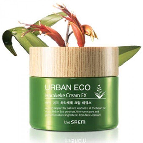 The Saem Urban Eco Harakeke Cream EX - Увлажняющий крем