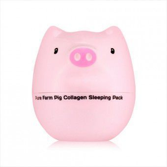 TonyMoly Pure Farm Pig Collagen Sleeping Pack - Маска для лица ночная коллагеновая