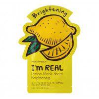 I'm Real Lemon Mask Sheet - Маска лимонная отбеливающая