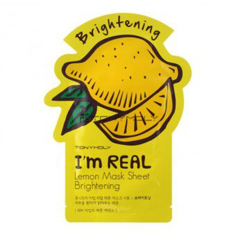 TonyMoly I'm Real Lemon Mask Sheet - Маска лимонная отбеливающая