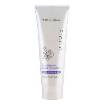 TonyMoly Floria Brightening Foam Cleanser -  Пенка для умывания осветляющая