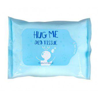 TonyMoly Hug Me Deo Tissue - Салфетки от пота