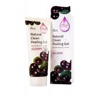 Acai Berry Natural Clean Peeling Gel - Пилинг-скатка с экстрактом ягод асаи