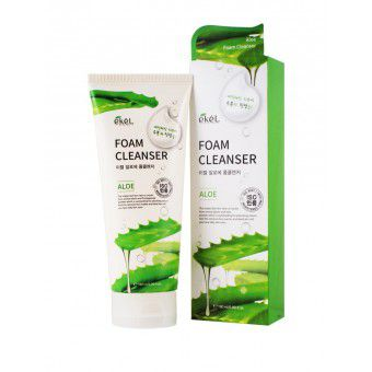 Ekel Aloe Foam Cleanser - Пенка для умывания с экстрактом алоэ